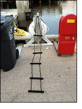 Ez Riser Flexible Boarding Ladders For Your Bass Boat Or