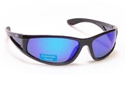 BOBS™ Floating Polarized Sunglasses FP86-Black Mirror