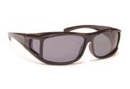 BOBS™ Over The Glass Floating Frame Sunglasses OTGFPS-Black