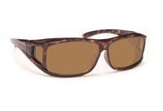 BOBS™ Over The Glass Floating Frame Sunglasses OTGFPS Tortoise