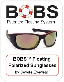 BOBS™ Floating Polarized Sunglasses by Coyote Eyewear